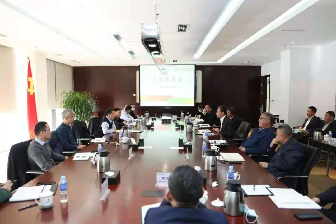 陈建国会见远达环保股份有限公司总经理夏刚